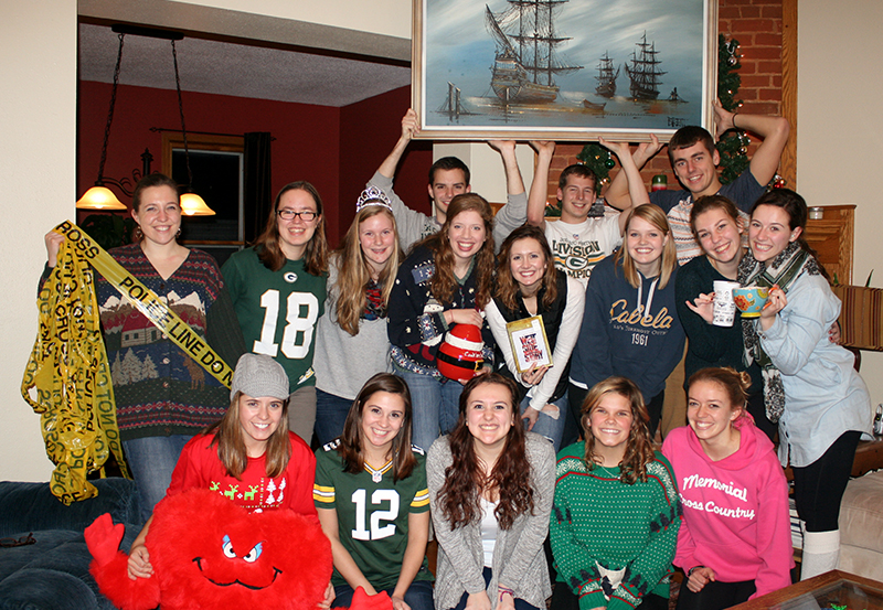 College Christmas party white elephant gifts