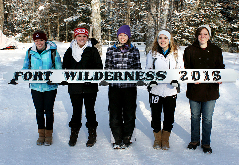Fort Wilderness college student winter retreat