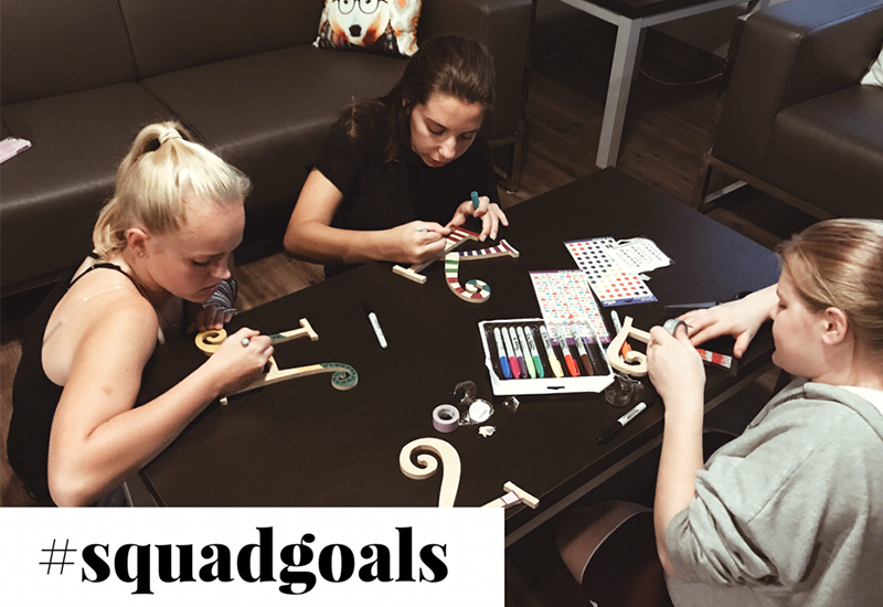 Remnant Youth #squadgoals 8th-9th Girls Small Group