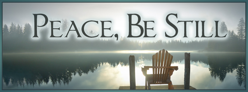 Peace Be Still series graphic